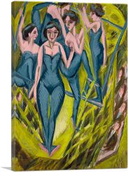 Blue Artistes 1914