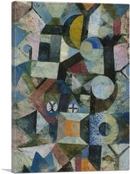 Composition with the Yellow Half-Moon and the Y 1918