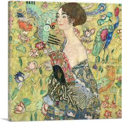 Lady With Fan 1918
