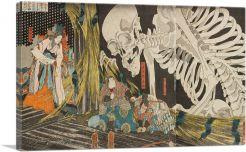 Mitsukini Defying the Skeleton Spectrel 1845