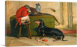 Ziva - A Badger Dog Belonging to the Hereditary Prince 1840