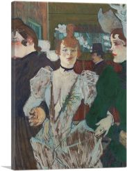 La Goulue at the Moulin Rouge With Two Women 1892