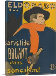Poster for the Performance of Artistide Bruant 1892
