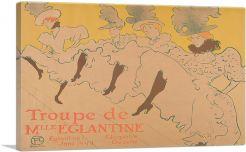 Troupe De Mlle Eglantine 1896
