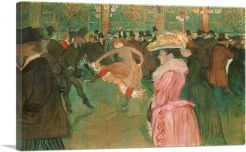 At the Moulin Rouge - The Dance 1891