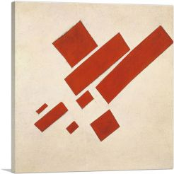 Suprematism With Eight Red Rectangles 1915
