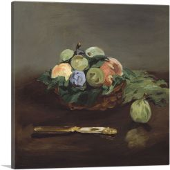 Basket of Fruit 1864