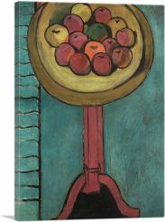 Bowl of Apples on a Table 1916