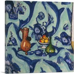 Still Life with Blue Tablecloth 1906