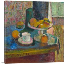 Still Life with Compote, Apples and Oranges 1899