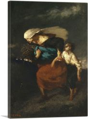 Retreat from the Storm 1846