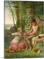 Spring - Daphnis and Chloe 1865