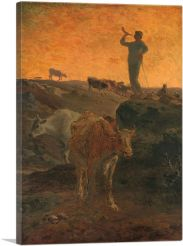 Calling the Cows Home 1872