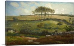 Pasture near Cherbourg - Normandy 1872