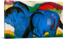 The Large Blue Horses 1911