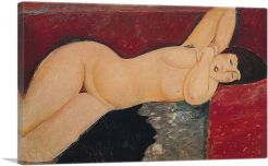 Nude on Couch 1917