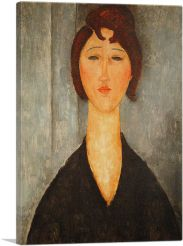 Portrait of a Young Woman 1918