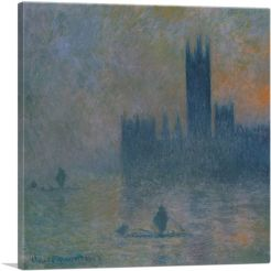 Houses of Parliament - Effect of Fog 1903