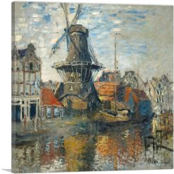 The Windmill, Amsterdam 1871