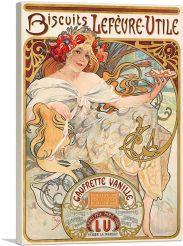 Biscuits Lefevre Utile 1900