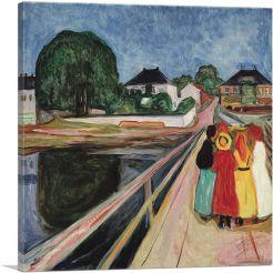 Girls on the Bridge 1902