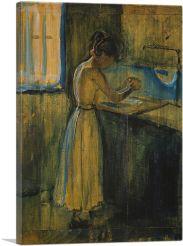 Young Woman Washing Herself 1896