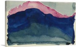 Pink and Blue Mountain 1916