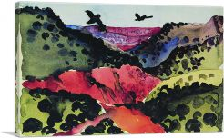 Canyon with Crows 1917