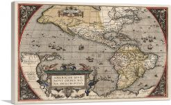 The Americas - The New World 1587