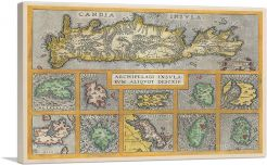 Crete and Ten other Greek Islands 1584