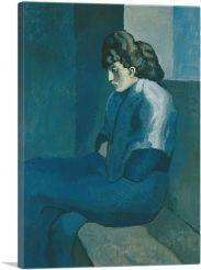 Melancholy Woman 1902