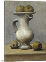 Still Life with a Pitcher and Apples 1919
