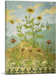 Sunflowers and Poppies 1899