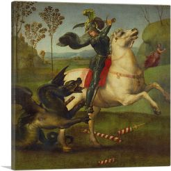 Saint George Struggling with the Dragon 1504