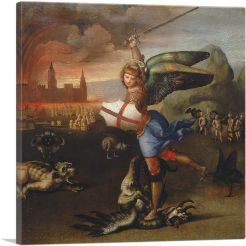Saint Michael and the Dragon 1505