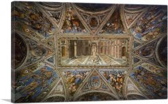 Ceiling of Constantine Sala di Costantino Vatican Museums