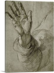 Upraised Right Hand, with Palm Facing Outward 1520