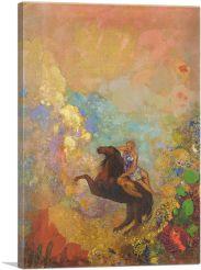 Muse auf Pegasus 1900