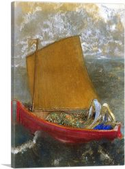 The Yellow Sail 1905-1-Panel-40x26x1.5 Thick