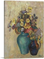 Two Vases of Flowers 1905