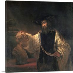 Aristotle with a Bust of Homer 1653