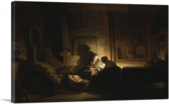 The Holy Family by Night 1642