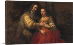 The Jewish Bride 1667-1-Panel-40x26x1.5 Thick