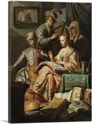 The Music Party - Musical Allegory 1626