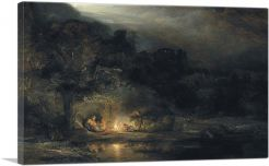The Rest on The Flight Into Egypt 1647