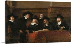 The Sampling Officials - The Syndics of the Drapers Guild 1662