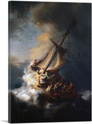 The Storm on the Sea of Galilee 1633
