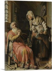 Tobit and Anna with the Kid 1626