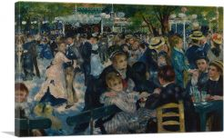 Dance at Le Moulin de la Galette 1876
