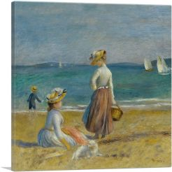 Figures on the Beach 1890